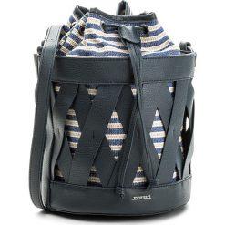 Torebka MONNARI - BAG5430-013 Navy. Brązowe torebki do ręki damskie Monnari, z materiału. W wyprzedaży za 129.00 zł.