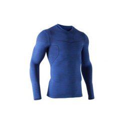 Koszulka termoaktywna długi rękaw dla dorosłych Kipsta Keepdry 500. Koszulki sportowe męskie marki KIPSTA. Za 49.99 zł.
