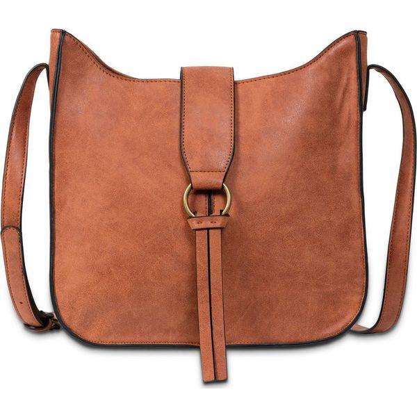 e428b1287de3c Torebka na ramię bonprix koniakowy torby na ramię damskie marki jpg 600x600 Koniakowe  torebki damskie