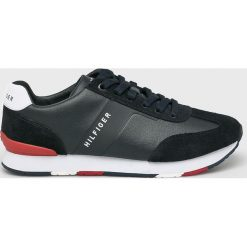 Tommy Hilfiger - Buty. Czarne buty sportowe męskie Tommy Hilfiger, z gumy. Za 449.90 zł.