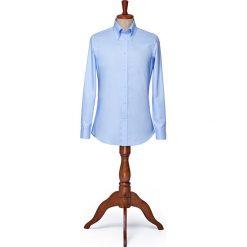 Koszula Niebieska Downtown. Niebieskie koszule męskie LANCERTO, z bawełny, button down. W wyprzedaży za 199.00 zł.
