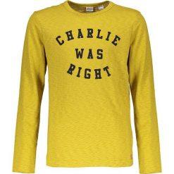 """Koszulka """"Sir Charlie"""" w kolorze żółtym. T-shirty dla chłopców marki Reserved. W wyprzedaży za 67.95 zł."""
