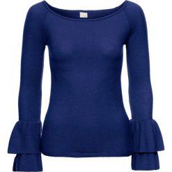 Sweter bonprix kobaltowy. Niebieskie swetry damskie bonprix, z dzianiny. Za 119.99 zł.