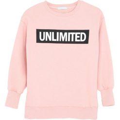 Jasnoróżowa Bluza Designation. Czerwone bluzy dla dziewczynek Born2be. Za 59.99 zł.