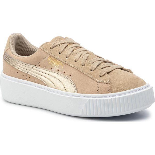 Sneakersy PUMA Suede Platform Bubble Wn's 364594 SafariSafari