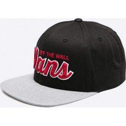 Vans - Czapka. Szare czapki i kapelusze męskie Vans. W wyprzedaży za 69.90 zł.