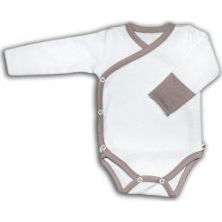 Body kimono z długim rękaw białe VINTAGE ROSE r. 62 (NVR-10/62). Białe body niemowlęce Nanaf Organic, z długim rękawem. Za 42.29 zł.