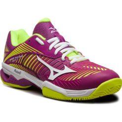 Buty MIZUNO - Wave Exceed Tour 3 Cc 61GC187567 Fioletowy Żółty. Obuwie sportowe damskie marki Nike. W wyprzedaży za 369.00 zł.