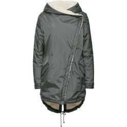 Płaszcz bonprix ciemnoszary. Płaszcze damskie marki FOUGANZA. Za 239.99 zł.