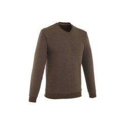 Sweter NH150 męski. Brązowe swetry przez głowę męskie QUECHUA. Za 39.99 zł.