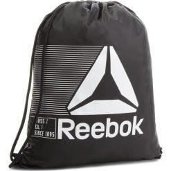 Plecak Reebok - Act Fon Gymsack CE0944 Black. Czarne plecaki damskie Reebok, z materiału, sportowe. Za 49.95 zł.