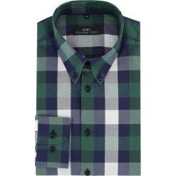 Koszula BIAGIO slim 16-03-14-K. Szare koszule męskie Giacomo Conti, z bawełny, button down, z długim rękawem. Za 149.00 zł.