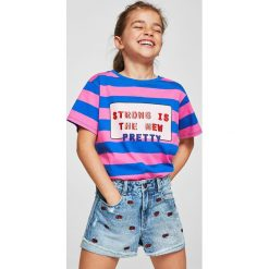 Mango Kids - Szorty dziecięce Lisa 110-164 cm. Spodenki dla dziewczynek marki bonprix. Za 89.90 zł.