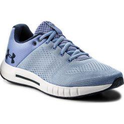 Buty UNDER ARMOUR - Ua Micro G Pursuit 3000101-400 Blu. Niebieskie buty sportowe męskie Under Armour, z materiału. W wyprzedaży za 189.00 zł.