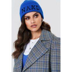 NA-KD Accessories Czapka NA-KD - Blue. Niebieskie czapki i kapelusze damskie NA-KD Accessories, z dzianiny. W wyprzedaży za 34.27 zł.