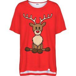 Colour Pleasure Koszulka damska CP-033 295 czerwona r. uniwersalny. Bluzki damskie marki Colour Pleasure. Za 76.57 zł.