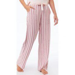 Etam - Spodnie piżamowe Dean. Szare piżamy damskie Etam, z materiału. Za 119.90 zł.
