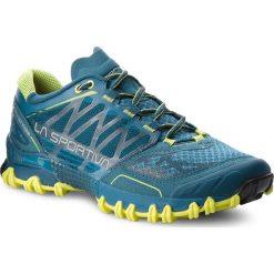 Buty LA SPORTIVA - Bushido 26K606702 Ocean/Sulphur. Niebieskie buty sportowe męskie La Sportiva, z materiału. W wyprzedaży za 539.00 zł.