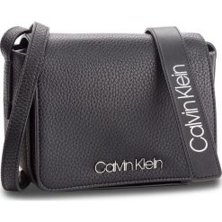 Torebka CALVIN KLEIN - Ck Base Small Crossbody K60K604425 001. Czarne listonoszki damskie Calvin Klein, ze skóry ekologicznej. Za 349.00 zł.