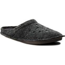 Kapcie CROCS - Classic Slipper 203600  Black/Black. Czarne kapcie damskie Crocs, z materiału. Za 129.00 zł.