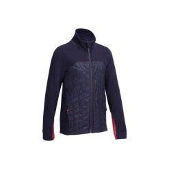 Bluza SW500 granatowa. Niebieskie bluzy damskie FOUGANZA. Za 79.99 zł.