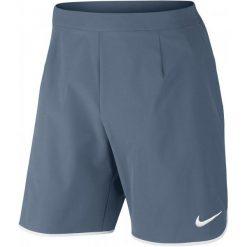 Nike Spodenki Tenisowe M Nkct Flx Short 9in Ace M. Szare krótkie spodenki sportowe męskie Nike. W wyprzedaży za 169.00 zł.