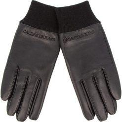 Rękawiczki Męskie CALVIN KLEIN JEANS - J Cuff Leather Glove K50K504185 016. Rękawiczki męskie marki FOUGANZA. W wyprzedaży za 239.00 zł.