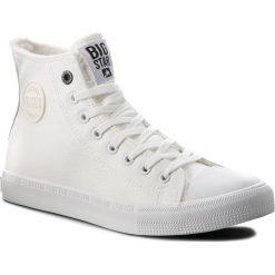 Trampki BIG STAR - BB174316  White. Białe trampki męskie Big Star, z gumy. Za 119.00 zł.