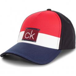 Czapka z daszkiem CALVIN KLEIN JEANS - Clr Blocking Trucker K50K504117 448. Czerwone czapki i kapelusze męskie Calvin Klein Jeans. Za 179.00 zł.