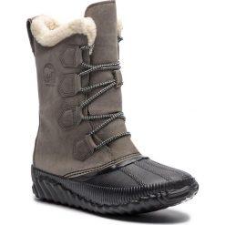 Śniegowce SOREL - Out N About Plus Tall NL3146 Quarry 052. Szare kozaki damskie Sorel, z gumy. Za 569.99 zł.