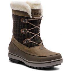 Śniegowce HELLY HANSEN - W Georghina 112.88-886 Goose/Major Brown/Falcon. Zielone kozaki damskie Helly Hansen, z materiału. Za 599.00 zł.