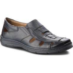 Sandały LASOCKI FOR MEN - MI07-A695-A556-02  Granatowy. Niebieskie sandały męskie Lasocki For Men, z materiału. W wyprzedaży za 159.99 zł.