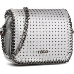 Torebka NOBO - NBAG-F1100-C022 Srebrny. Szare torebki do ręki damskie Nobo, ze skóry ekologicznej. W wyprzedaży za 139.00 zł.