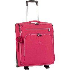 """Walizka """"Youri 50"""" w kolorze różowym - 40 x 50 x 20 cm. Walizki męskie Kipling, z tkaniny. W wyprzedaży za 260.95 zł."""