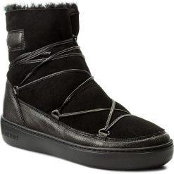 Śniegowce MOON BOOT - Pulse Low Shearling 24102700005 Nero. Czarne kozaki damskie Moon Boot, z materiału. Za 899.00 zł.