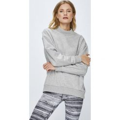 Reebok - Bluza. Szare bluzy damskie Reebok, z bawełny. W wyprzedaży za 169.90 zł.