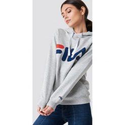 FILA Bluza z kapturem Classic Logo - Grey. Szare bluzy damskie Fila, z nadrukiem. Za 242.95 zł.