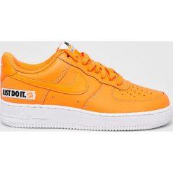 Nike Sportswear - Buty Nike Air Force 1 07 LV8 JDI Lea. Szare buty sportowe męskie Nike Sportswear, z materiału. W wyprzedaży za 379.90 zł.