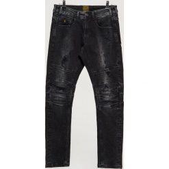 Jeansy SLIM - Czarny. Jeansy męskie marki bonprix. W wyprzedaży za 99.99 zł.