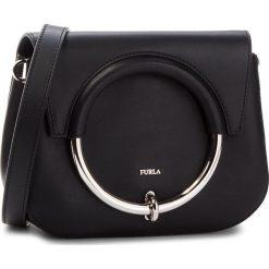 Torebka FURLA - Margherita 963547 B BOR9 VWO Onyx. Czarne listonoszki damskie Furla, ze skóry. W wyprzedaży za 1,029.00 zł.