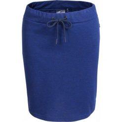 Spódnica dresowa damska  SPUD600 - granatowy - Outhorn. Niebieskie spódnice damskie Outhorn, na lato, z bawełny, sportowe. Za 39.99 zł.