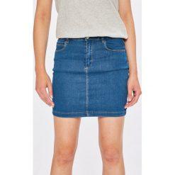 Missguided - Spódnica. Szare spódnice damskie Missguided, z bawełny. W wyprzedaży za 79.90 zł.