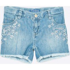 Guess Jeans - Szorty dziecięce 118-175 cm. Spodenki dla dziewczynek Guess Jeans, z bawełny, casualowe. W wyprzedaży za 179.90 zł.
