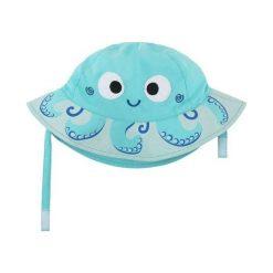 Zoocchini Kapelusz UV 50+ Ośmiornica 12-24. Niebieskie czapki dla dzieci Zoocchini. Za 50.45 zł.