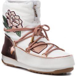 Śniegowce MOON BOOT - Peace & Love Wp 24007500001 Copper/White. Białe śniegowce i trapery damskie Moon Boot, z materiału. Za 1,349.00 zł.