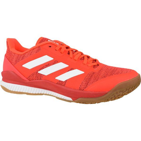 adidas ZG Stabil Bounce AC8691 buty do piłki ręcznej, buty do siatkówki męskie czerwone 44 23