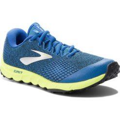 Buty BROOKS - PureGrit 7 110291 1D 492 Blue/Lime/Black. Niebieskie buty sportowe męskie Brooks, z materiału. W wyprzedaży za 329.00 zł.