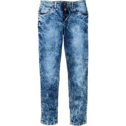 """Dżinsy ze stretchem Slim Fit Straight bonprix Niebieski """"stone"""" Used. Jeansy męskie marki bonprix. Za 139.99 zł."""