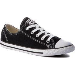 Trampki CONVERSE - Ct As Dainty Ox 530054C Black. Czarne trampki męskie Converse, z gumy. W wyprzedaży za 219.00 zł.