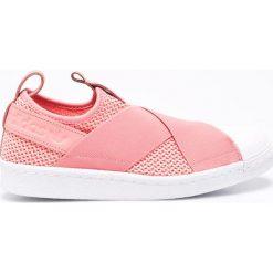 Adidas Originals - Buty Superstar SlipOn W. Szare trampki i tenisówki damskie adidas Originals, z materiału. W wyprzedaży za 239.90 zł.